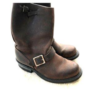 Frye engineer boot size 7